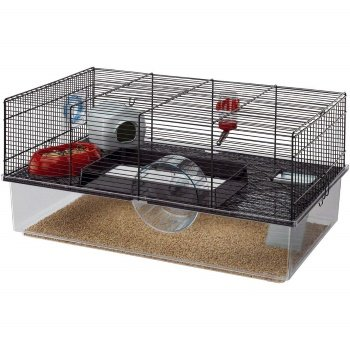 Black Hamster Cage By Ferplast