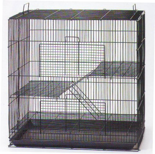 NEW Large 3 Levels Ferret Chinchilla Sugar Glider Rats Animal Cage