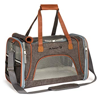Mr Peanut's Airline Approved Soft Sided Pet Carrier