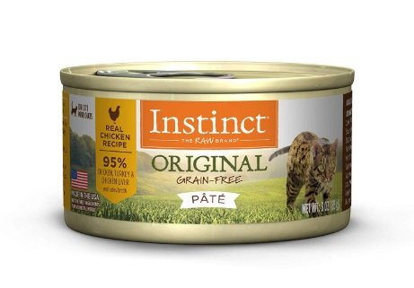 Instinct by Nature's Variety Grain-Free Real Duck Recipe Natural Wet Canned Cat Food