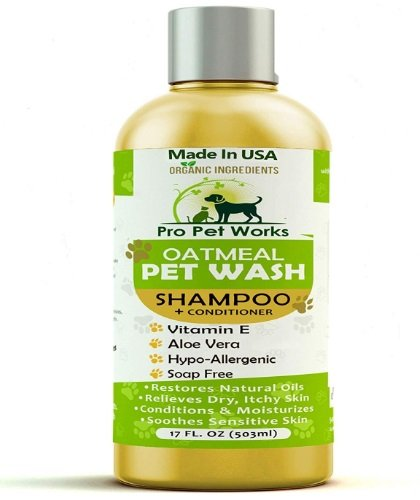Pro Pet Works Natural Oatmeal Pet Shampoo