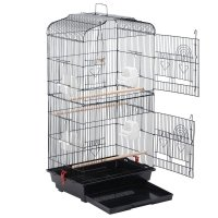 Yaheetech 36 Portable Hanging Medium Size Bird Cage for Small Parrots Cockatiels Sun Quaker Parakeets Green Cheek Conures Finches Canary Budgies Lovebirds