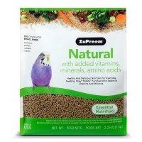 ZuPreem Natural with Added Vitamins, Minerals, Amino Acids Small Bird Food