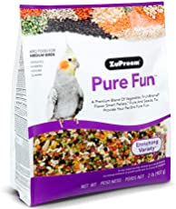 ZuPreem Pure Fun Enriching Variety Medium Bird Food