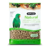 Zupreem Natural With Added Vitamins, Minerals, Amino Acids Medium-Large Bird Food