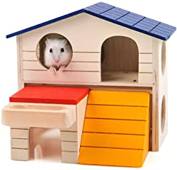 BWOGUE Hideout Hamster House Deluxe