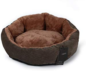 FMZG Round Pet Bed for Cats and Dogs