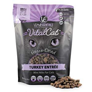 Vital Essentials Vital Cat Freeze-Dried Turkey Mini Nibs Grain Free