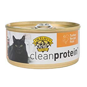 Best for Seniors: Dr. Elsey's cleanprotein Turkey Formula Grain-Free Canned Cat Food