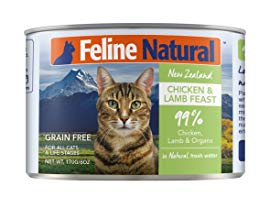 Best for Seniors: Feline Natural Chicken & Lamb Feast Grain-Free Canned Cat Food