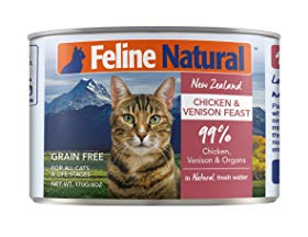 Feline Natural Chicken & Venison Feast Cat Food