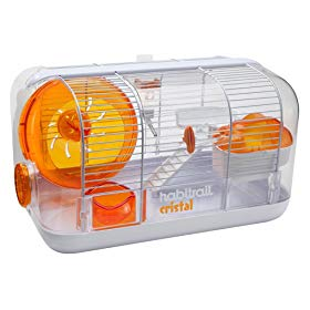 Habitrail Cristal Hamster Cage with Wheel