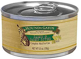 Best for Sensitive Stomach: Hound and Gatos Lamb and Lamb Liver Canned Cat Food