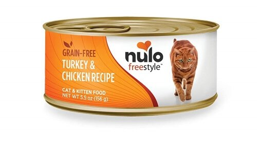 Nulo Adult & Kitten Grain Free Canned Wet Cat Food (Turkey & Chicken Recipe