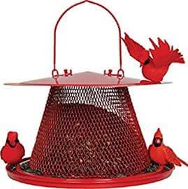Perky Pet Red Cardinal Bird Feeder