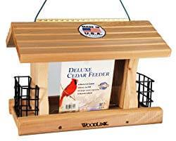 Woodlink Deluxe Cedar Bird Feeder with Suet Cages