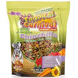 F.M. Brown's Tropical Carnival Gourmet Chinchilla Food