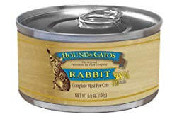Hound & Gatos Rabbit Formula Canned Cat Food Review