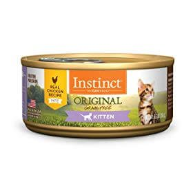 Instinct by Nature's Variety Kitten Grain-Free Real Chicken Recipe Canned Cat Food