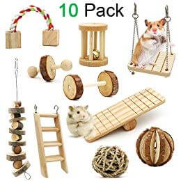 ZALALOVA Natural Wooden Chew Toy Collection