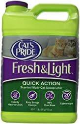 Cat's Pride Premium Fresh & Light Fragrance Free Multi-Cat Scoopable Cat Litter