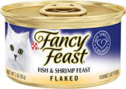 Purina Fancy Feast Fish & Shrimp Feast Flaked Canned Cat Food