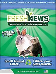 Fresh News Paper Small Animal Litter