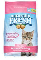 Naturally Fresh Walnut-Based Kitten Training Quick-Clumping Cat Litter