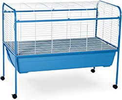 Prevue Pet Jumbo Tubby Rabbit Cage on Stand