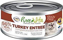 Pure Vita 96% Grain-Free Turkey & Turkey Liver Entree
