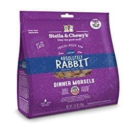 Stella & Chewy's Freeze-Dried Raw Absolutely Rabbit Dinner Morsels Cat Food