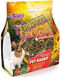 Tropical Carnival Gourmet Pet Rabbit Food