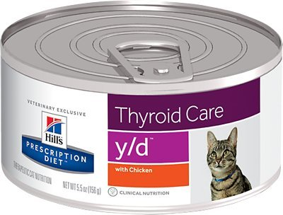 Hill's Prescription Diet y/d Thyroid Care with Chicken Canned