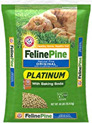 Feline Pine Platinum Cat Litter