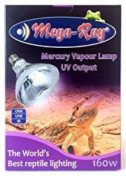 Mega-Ray 160w Mercury Vapor Bulb