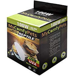 MyComfyPets 2-in-1 UVA and UVB Bulb