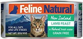 Feline Natural Lamb Feast Grain-Free Canned Cat Food