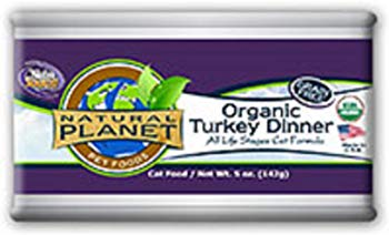 Natural Planet Organics Turkey Dinner Canned Cat Food