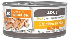 Simply Nourish Essentials Chicken Recipe Adult Pate
