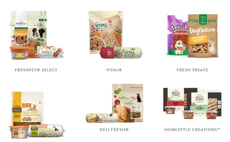 FreshPet dog food recipes