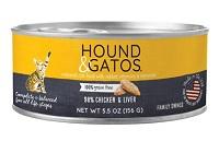 Hound & Gatos Chicken & Chicken Liver Formula