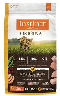 Instinct Original Grain Free Recipe with Real Chicken Natural Dry Cat Food