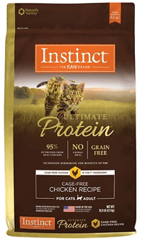 Instinct by Nature's Variety Ultimate Protein Grain-Free Cage-Free Chicken Recipe Dry Cat Food