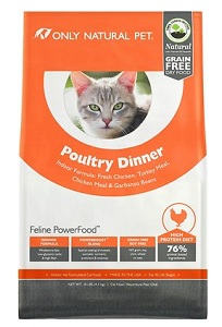 Only Natural Pet Feline PowerFood Poultry Dinner