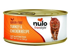 Nulo Adult & Kitten Turkey & Chicken Recipe Canned Cat Food