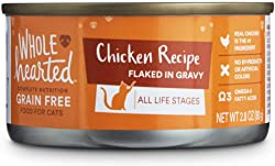 WholeHearted Flaked in Gravy Chicken Recipe