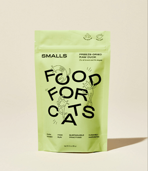 Best for Picky Cats: Smalls Freeze-Dried Raw Water Bird