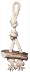 KONG Tug Rope with Antler Attached