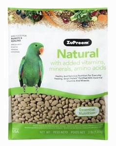 ZuPreem Natural Medium/Large Bird Food