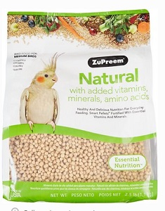Zupreem Natural Bird Food for Small Birds